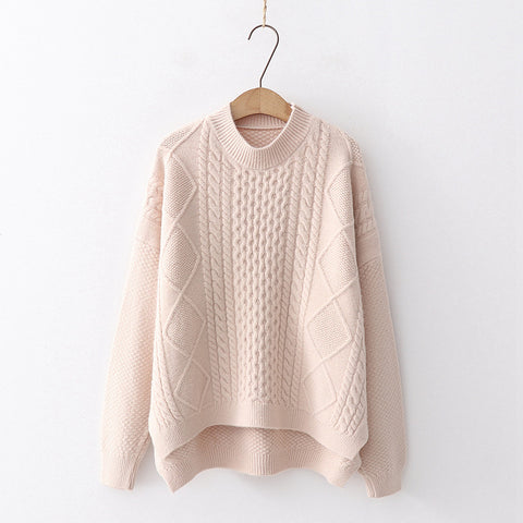 Cabled Knitted Sweater
