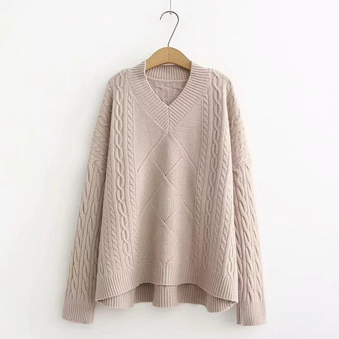 Loose Bat-wing Sweater