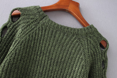 Crochet Pullover Sweater