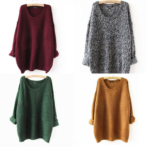Loose Sweater in 4 colors