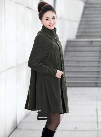 Oliver Green Wool Coat Jacket
