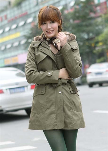 Oliver Green Hooded Coat Jacket Outwear