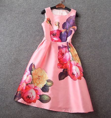 Floral Dress in Pink