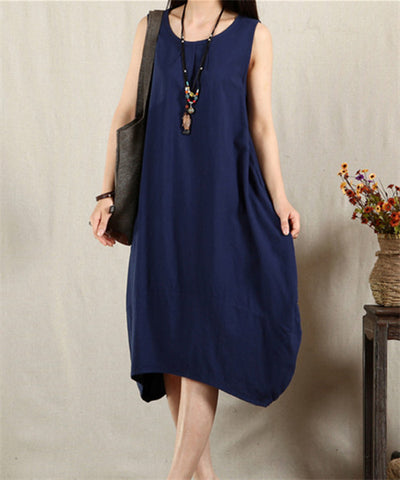 Linen Dress in 3 Colors
