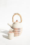 Terracota Tall Teapot