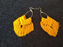Load image into Gallery viewer, Hand-made Cotton Thread Earring