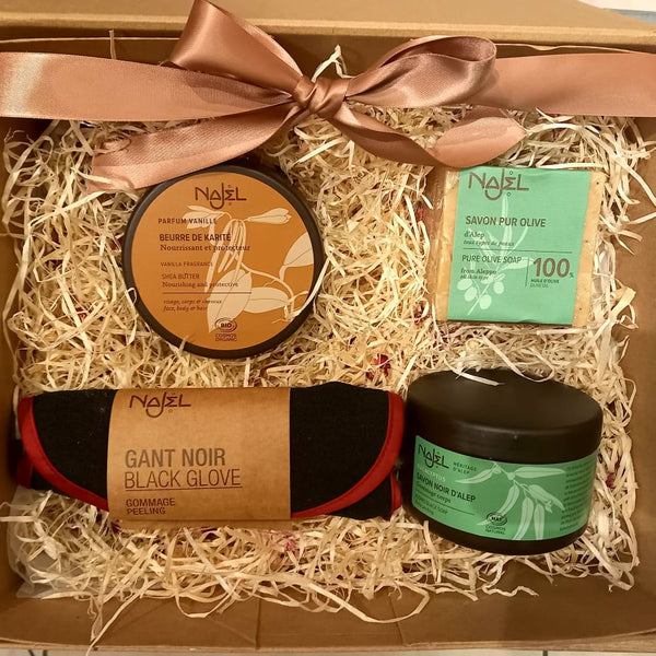 Natural Shea & Aleppo Body Gift Set