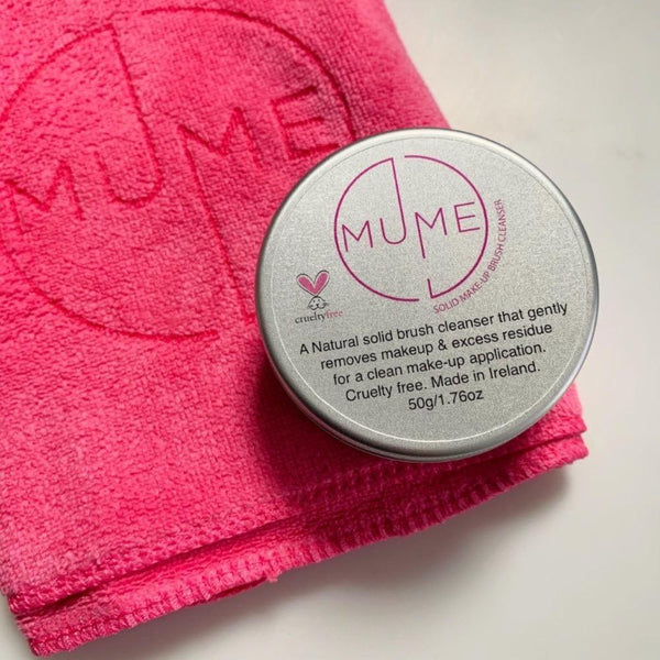 MuMe's ultra soft microfibre cloth