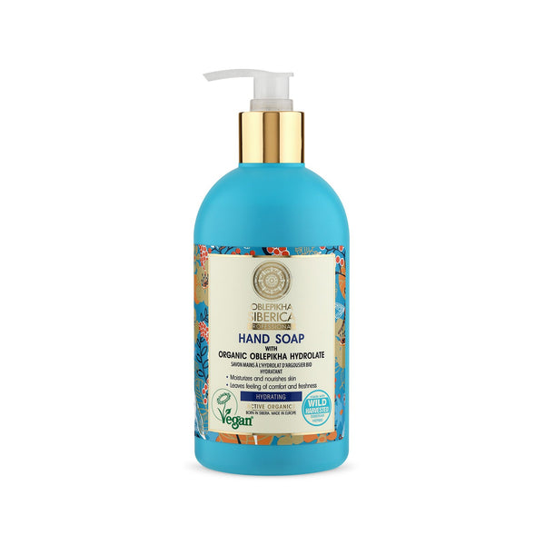 Hydrating Hand Soap with Organic Oblepikha Hydrolate