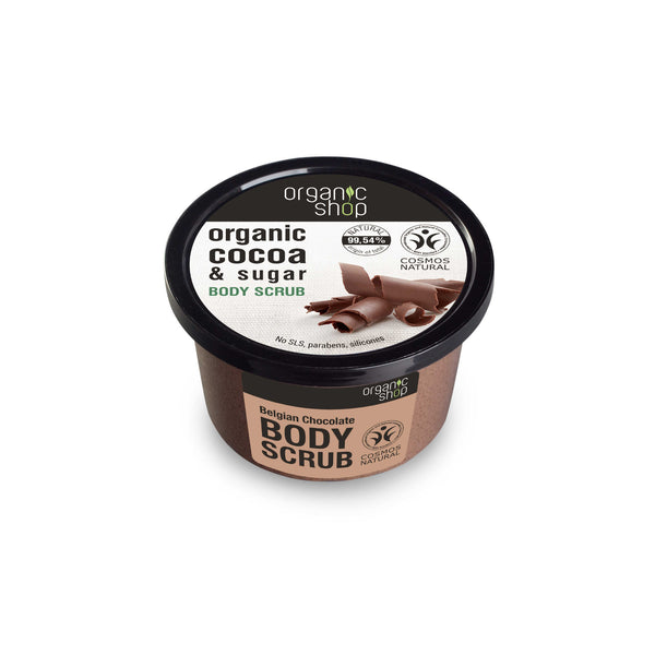 Body Scrub Belgian Chocolate