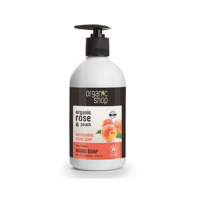 Nourishing Hand Soap Rose Peach