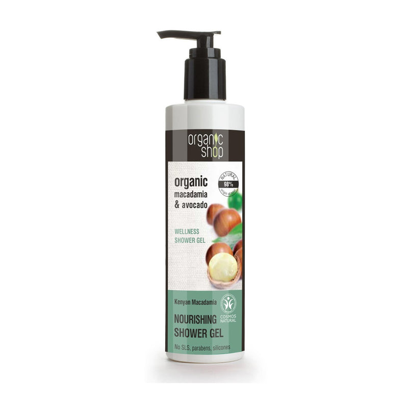 Nourishing Shower Gel Kenyan Macadamia