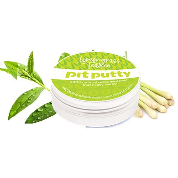 Pit Putty Lemongrass VEGAN Deodorant