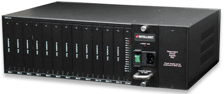 Media Converter Chassis 12 Port Image 1