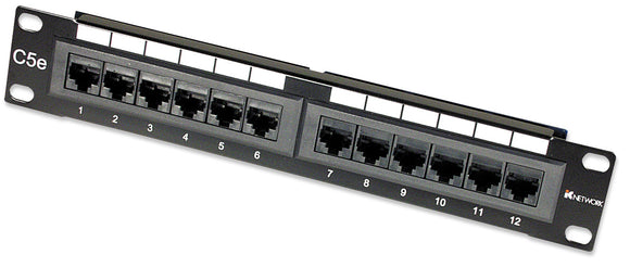 12-Port Patch Panel, 10