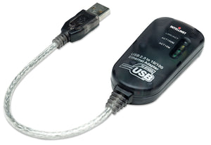 Hi-Speed USB 2.0 to Fast Ethernet Adapter Image 1