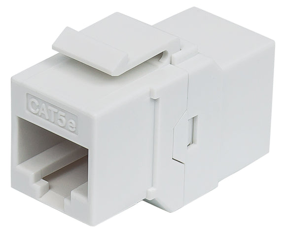 Cat5e Inline Coupler, Keystone Type Image 1