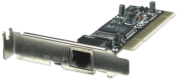 10/100 Low Profile PCI Network Card Image 1