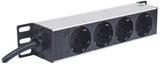 "10"" 1U Rackmount 4-Output Power Distribution Unit (PDU) Image 2"