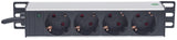 "10"" 1U Rackmount 4-Output Power Distribution Unit (PDU) Image 3"