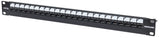 "Locking 19"" Cat5e Unshielded Patch Panel Image 1"