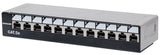 Locking Desktop Cat5e Unshielded Patch Panel Image 1