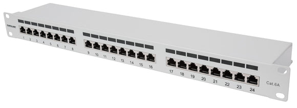 Cat6a Shielded Patch Panel Image 1
