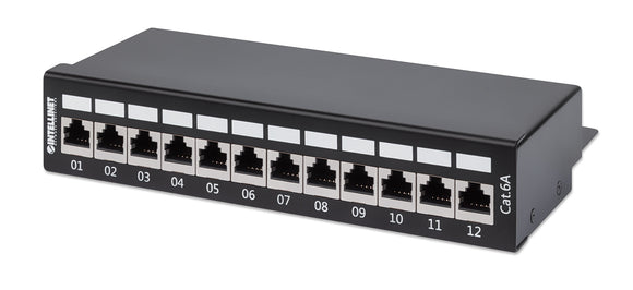 Cat6a Shielded Desktop Patch Panel Image 1