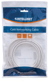 INT Network Cable, Cat6 Certified, CU, U/UTP, PVC, RJ45, 0.6m/2ft, White, Bag Packaging Image 2