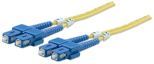 Fiber Optic Patch Cable, Duplex, Single-Mode Image 1