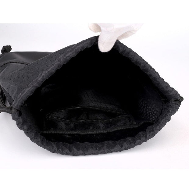 Waterproof Nylon Drawstring Bag