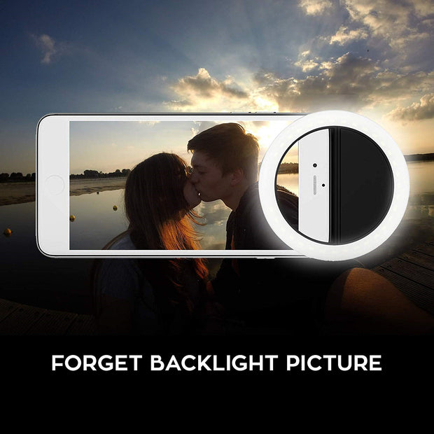 USB Smartphone Ring Light