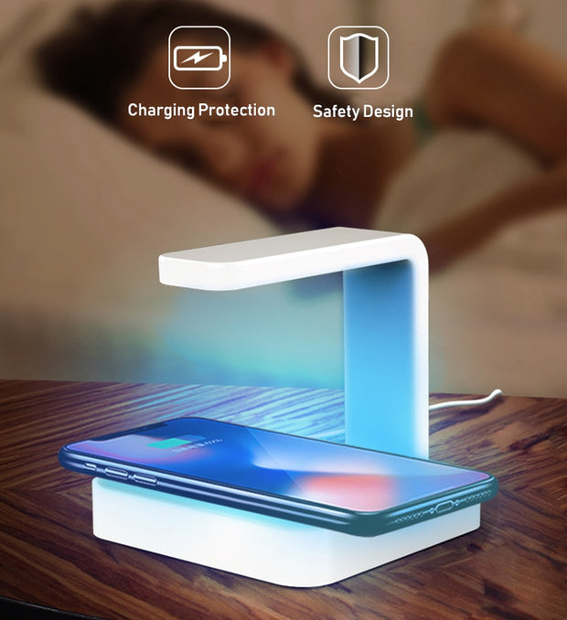2-In-1 Wireless UV Germicidal Charger