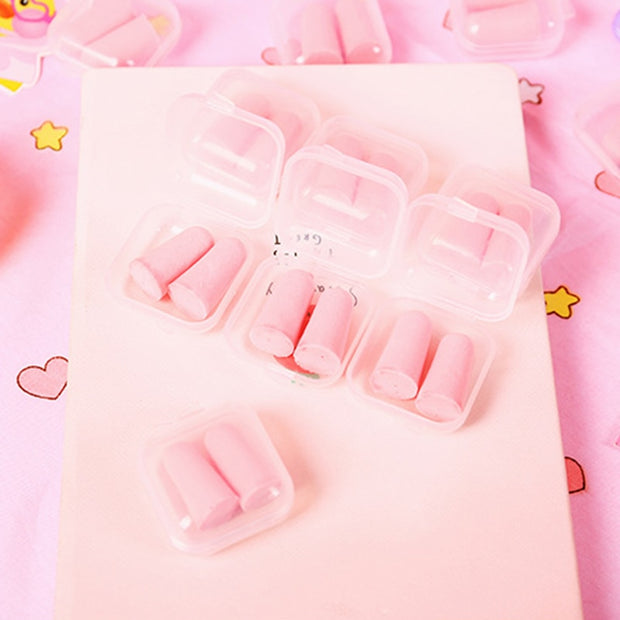 Anti-Noise Silicone Ear Plugs