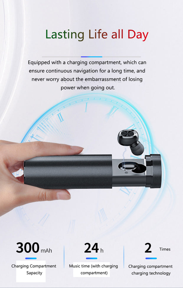 B9 HD Bluetooth Earphone