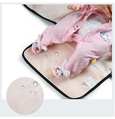Waterproof Diaper Changing Bag