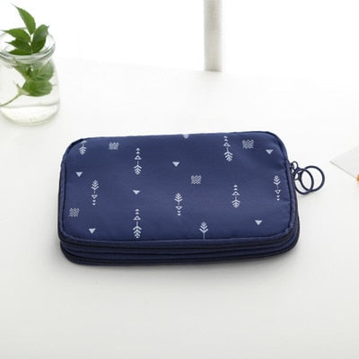 Double Deck Passport Organizer