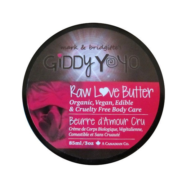 Giddy YoYo Raw Chocolate - Raw Love Butter