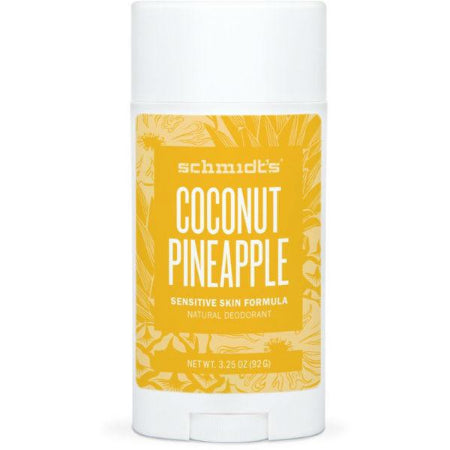 Schmidt's Natural Deodorant - Coconut Pineapple (Sensitive Skin)