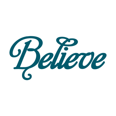 Conscious Ink Temporary Tattoo - Believe