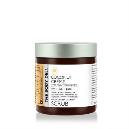 THE BODY DELI - Exfoliating Sea Salt Body Scrub in Coconut Créme
