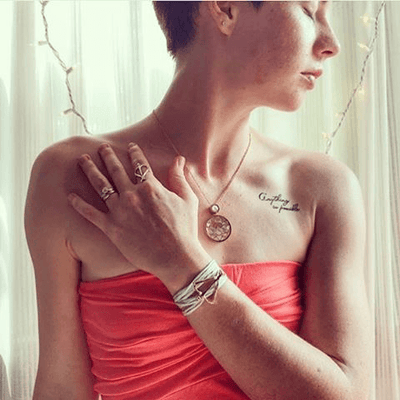 Conscious Ink Temporary Tattoo - Anything is Possible