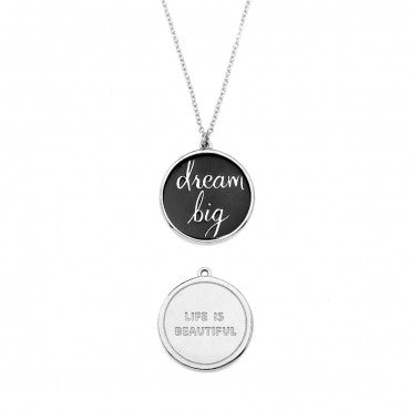 Foxy Originals - Dream Big Necklace in Silver