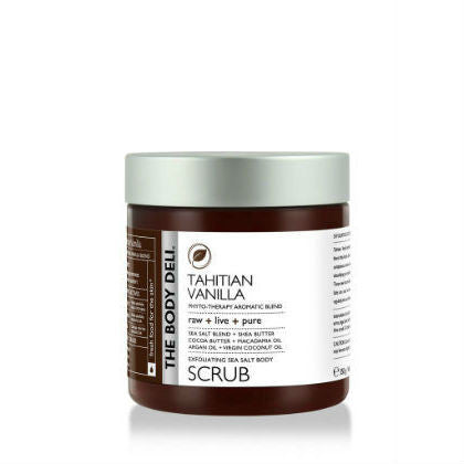 THE BODY DELI - Exfoliating Sea Salt Body Scrub in Tahitian Vanilla