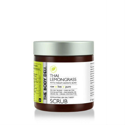 THE BODY DELI - Exfoliating Sea Salt Body Scrub in Thai Lemongrass