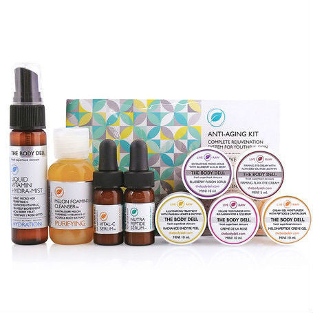 The Body Deli - Anti-Aging Facial Mini Kit