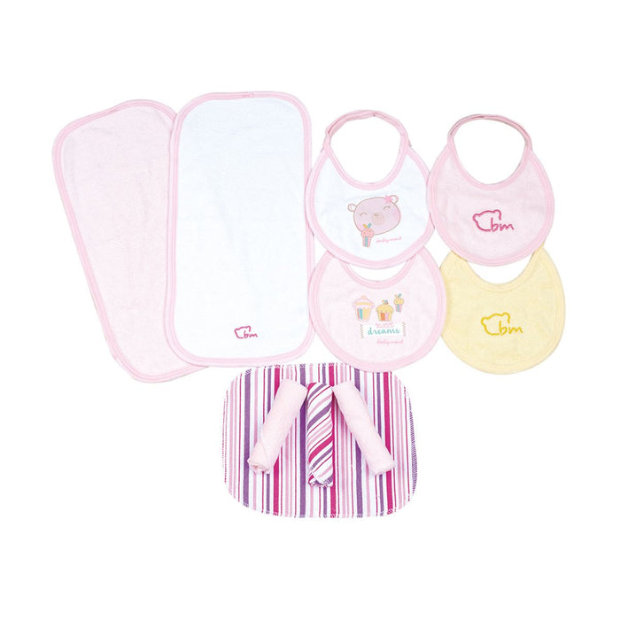 Abc Baby Lunck Rosa Baby Mink