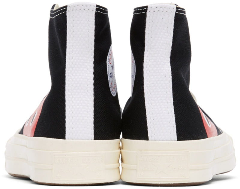 Play Converse Chuck High Sneakers - CDG Play - Danali - Winnipeg