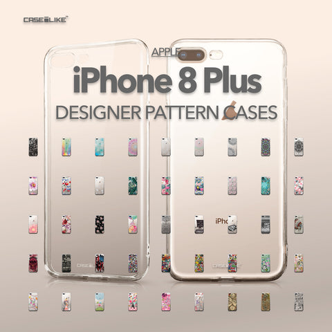 Apple iPhone 8 Plus cases, designer pattern cases | CASSEiLIKE.com