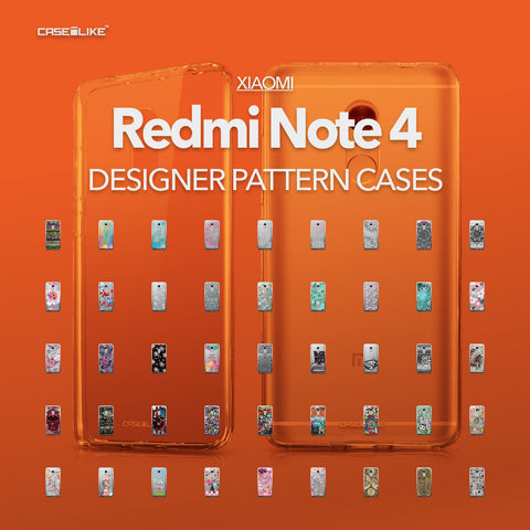 Xiaomi Redmi Note 4 cases, designer pattern cases | CASSEiLIKE.com